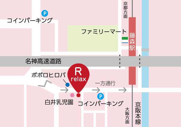 京都府伏見区深草極楽町772-6 タックビル1F
